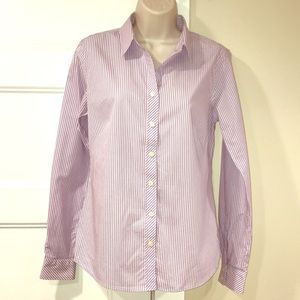 Banana Republic non-iron fitted stretch shirt